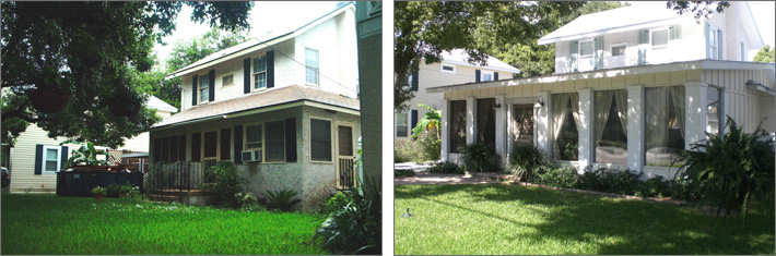 Front Before and After